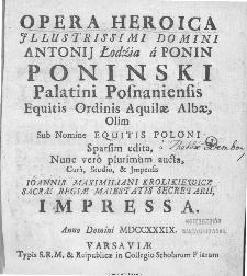 Opera Heroica