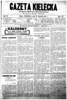 Gazeta Kielecka, 1910, R.41, nr 101