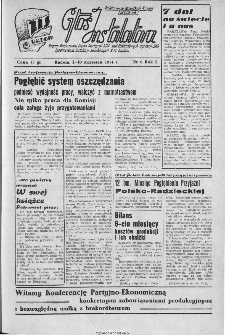 Głos Instalatora : organ Podstawowej Organ.[izacji] Partyjnej PZPR, Rad Zakładowych, Dyrekcji i ZMP Zjednoczenia Instalacji Sanitarnych B.M. Radom, 1944, nr 6