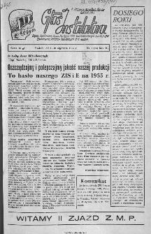 Głos Instalatora : organ Podstawowej Organ.[izacji] Partyjnej PZPR, Rad Zakładowych, Dyrekcji i ZMP Zjednoczenia Instalacji Sanitarnych B.M. Radom, 1945, nr 1(16)