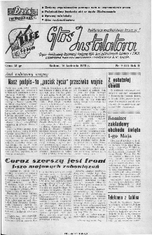Głos Instalatora : organ Podstawowej Organ.[izacji] Partyjnej PZPR, Rad Zakładowych, Dyrekcji i ZMP Zjednoczenia Instalacji Sanitarnych B.M. Radom, 1945, nr 9(24)