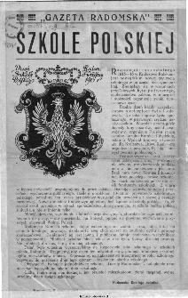 Gazeta Radomska Szkole Polskiej