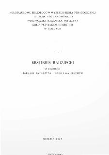 Ekslibris radziecki z kolekcji Barbary Katarzyny i Czesława Erberów