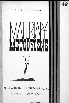 Materiały Metodyczne 1976