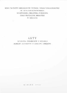 Akty. Wystawa z kolekcji Barbary Katarzyny i Czesława Erberów