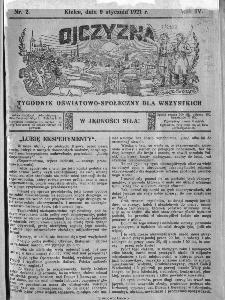 Ojczyzna : tygodnik oświatowo-społeczny dla wszystkich, 1921, nr 2