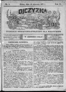 Ojczyzna : tygodnik oświatowo-społeczny dla wszystkich, 1921, nr 3