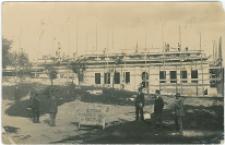 Budowa Szkoły Powszechnej w Pińczowie 1.IX.1927