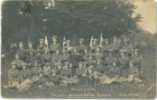 Drugi Pluton. Pierwsza Kielecka Żeńska Drużyna. Kielce 5.VI.1916