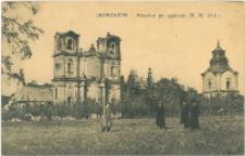 Jedrzejów Klasztor po spaleniu 28.IX.1914