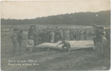 Kielce. Przeszkoda w biegu 350 m. 27 maja 1917 r.