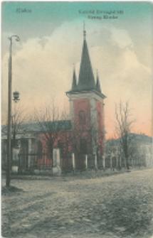 Kielce. Kościół Ewangelicki.