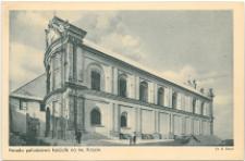 Fasada południowa Kościoła na Świętym Krzyżu