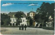 Kielce. Były pałac biskupi nastepnie gubernia obecnie Komenda Obwodowa. (2)