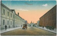 Kielce. Ulica Mickiewicza.