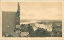 Sandomierz Zachodni szczyt katedry, zamek i widok na nizinę sandomierską.