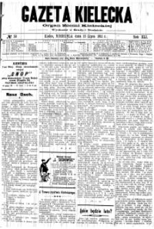 Gazeta Kielecka, 1911, R.42, nr 47