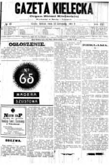 Gazeta Kielecka, 1911, R.42, nr 48