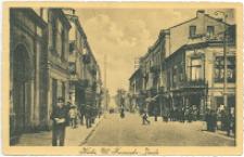 Kielce. Ulica Franciszka Józefa.