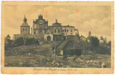 Klasztor świętokrzyski z wojny 1914-1916.