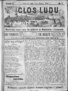 Głos Ludu, 1907, nr 11