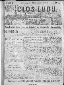 Głos Ludu, 1907, nr 12