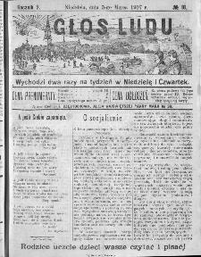 Głos Ludu, 1907, nr 18