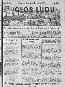 Głos Ludu, 1907, nr 30