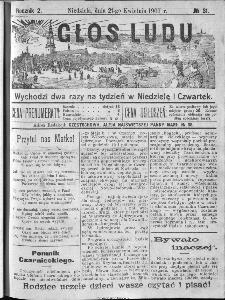 Głos Ludu, 1907, nr 31