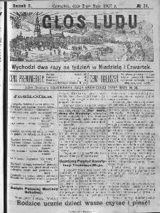 Głos Ludu, 1907, nr 34