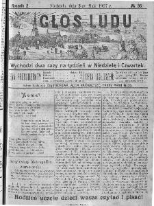 Głos Ludu, 1907, nr 35