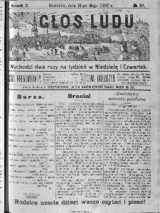 Głos Ludu, 1907, nr 37