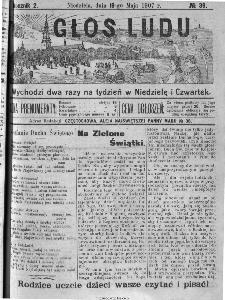 Głos Ludu, 1907, nr 39