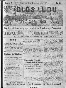 Głos Ludu, 1907, nr 44
