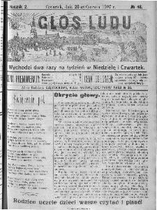 Głos Ludu, 1907, nr 48