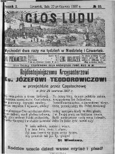 Głos Ludu, 1907, nr 50
