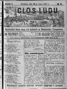 Głos Ludu, 1907, nr 59