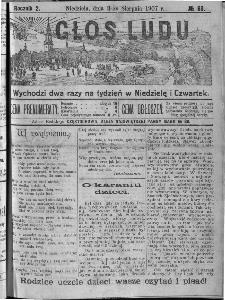 Głos Ludu, 1907, nr 63