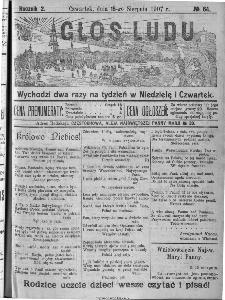 Głos Ludu, 1907, nr 64