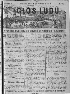 Głos Ludu, 1907, nr 65