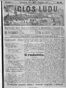 Głos Ludu, 1907, nr 66