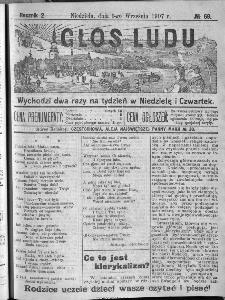 Głos Ludu, 1907, nr 69