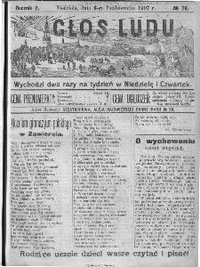 Głos Ludu, 1907, nr 79