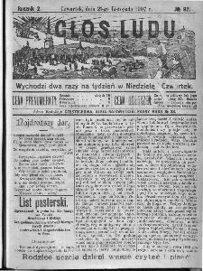 Głos Ludu, 1907, nr 92