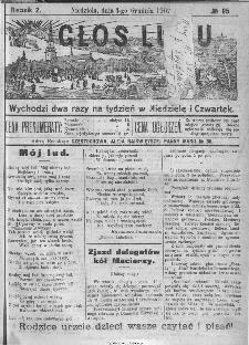 Głos Ludu, 1907, nr 95