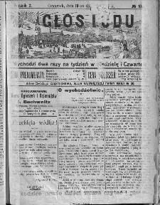 Głos Ludu, 1907, nr 100