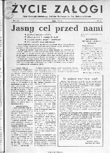 Życie Załogi : organ Samorządu Robotniczego Zakładów Metalowych im. Gen. Waltera w Radomiu, 1959, nr 2
