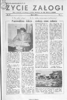 Życie Załogi : organ Samorządu Robotniczego Zakładów Metalowych im. Gen. Waltera w Radomiu, 1959, nr 6-7