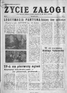 Życie Załogi : organ Samorządu Robotniczego Zakładów Metalowych im. Gen. Waltera w Radomiu, 1959, nr 10