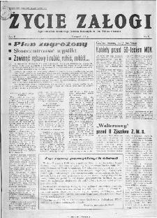 Życie Załogi : organ Samorządu Robotniczego Zakładów Metalowych im. Gen. Waltera w Radomiu, 1959, nr 11